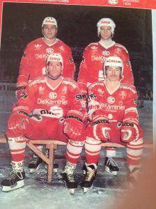 Tonny en David Shand (links voor)