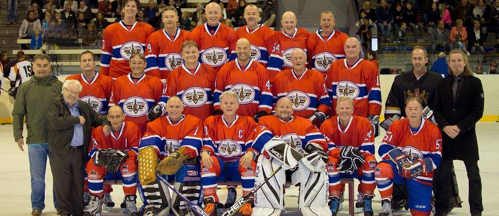 Het Utrecht Vintage IJshockeyteam
